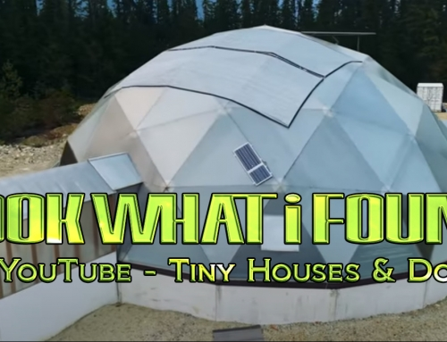 Tiny House Off Grid w/ Geodesic Domes